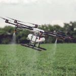 Aplicación de productos fitosanitarios drone